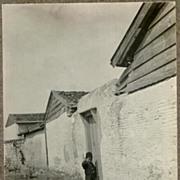 Appr. 1915: Old Turkey. A Boy at a Door