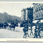1901: Parade of German Chinatroups in Wien
