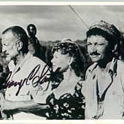 George C. Scott Autograph on Photo with Susan Tyrell. CoA