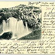 1898: Greetings from Sarajevo, Bad Jaice, old Turkey