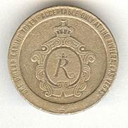 1979: Casino Rivera Gaming Token. 1 Dollar