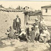Ca. 1930. Vintage Photo of European Gypsies