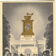 1941: Advertising Postcard for Franck Coffee.