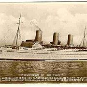 1930 - 50s. Three b / w Postcards related to Ships