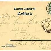 1896: Steamer Bodenbach. Early German Ship Postcard
