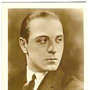 SOLD Ricardo Cortez Autograph on Ross Photo. CoA. Ca. 1925