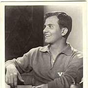 Pat Boone Autograph: Early UFA Film Photo. CoA