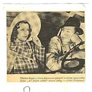 Irene Dunne Autograph. CoA