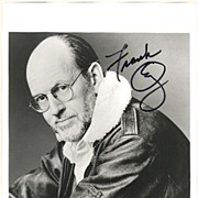 Frank Oz Autograph: Master Yoda. Large Photo, CoA