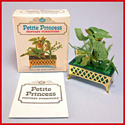 Petite Princess Dollhouse #4440-4 Salon Planter MINT in Box by Ideal 1964 3/4 ...