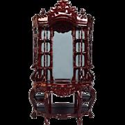 "Dollhouse Miniature Victorian Étagère by Bespaq Late 1980s 1"" Scale"
