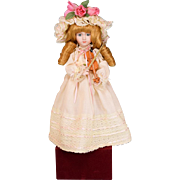 Dynasty Doll Collection Musical Automaton Doll with Violin by Cardinal, Inc. Early 1990s