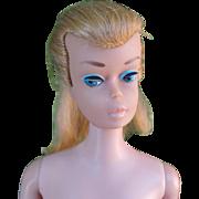 SOLD Vintage Barbie blonde Swirl Ponytail  Mattel Midge Barbie body nude  damaged thumb