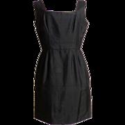 SALE Circa 1950s Little Black Dress