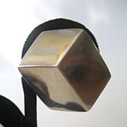 Sterling Silver Cube ESPO Earrings