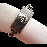 SALE Sterling Silver WWII U.S. Navy Locket Bracelet