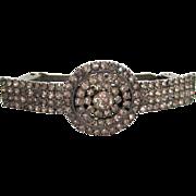 SALE Rhinestone Circular Design Barrette