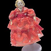 China Head doll house lady