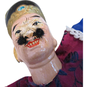 REDUCED Old Oriental Hand Puppet
