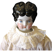 REDUCED Old much loved 18 inch china head doll