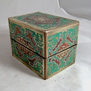 1870 French Boulle Perfume Casket..Free Shipping
