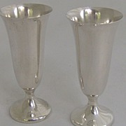 Pair of Gorham Sterling Cordials