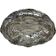 "SALE Gorham Art Nouveau Sterling Silver 10 3/4"" Bowl"