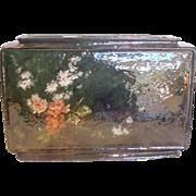 French Haviland Limoges Huge Barbotine Jardiniere Vase, Triple Openings, Faience Terra Cotta,