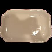 """French Haviland Limoges All White Serving Platter 12"""" c 1887"""