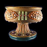 SALE Austrian Amphora Arts & Crafts Compote/Footed Dish (c.1900-1905)