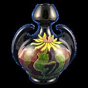 Old Moravian Austria Pottery Arts & Crafts Vase (c.1899-1918)