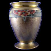 PSAA (Schonwald Porcelain) Bavaria Poppy Motif Vase (c.1920-1927)