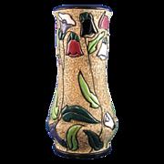 SALE Czechoslovakia Amphora Arts & Crafts Floral Design Vase (c.1918-1939)