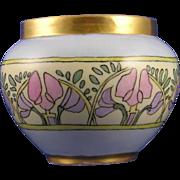 William Guerin & Co. (WG&Co.) Arts & Crafts Floral Motif Vase (c.1900-1932)