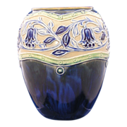 SALE Royal Doulton Arts & Crafts Floral Motif Vase (c.1923-1927)