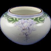 William Guerin & Co. (WG&Co.) Limoges Arts & Crafts Wisteria Motif Vase (c.1900-1932)
