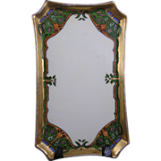 """William Guerin & Co. (WG&Co.) Limoges Arts & Crafts Card Holder/Pin Tray (Signed """"O.M ..."""