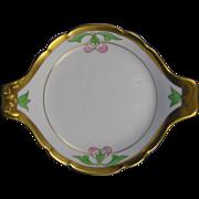 SALE Pickard Studios Arts & Crafts Leaf Design Handled Dish (c.1912-1918)