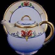 SALE HC Royal Bavaria Julius Brauer Studio Arts & Crafts Teapot/Syrup Pitcher (c.1914 ...