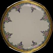 Moritz Zdekauer (MZ) Austria Floral Motif Pedestal Dish/Compote (c.1894-1909)