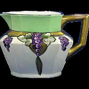 SALE Jean Pouyat (JP) Limoges Arts & Crafts Grape Motif Pitcher (c.1890-1932)