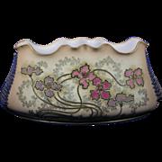 Ernst Wahliss Amphora Austria Floral Motif Jardinière/Vase (c.1900-1915)