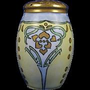 "SALE Zeh Scherzer & Co. (ZS&Co.) Bavaria Arts & Crafts Muffiner/Sugar Shaker (Signed ""Mas"