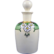 """William Guerin & Co. (WG&Co.) Limoges Arts & Crafts Daisy Motif Perfume Bottle (Signed """"A"""