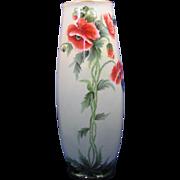 SALE PH Leonard Austria Arts & Crafts Poppy Design Vase (c.1890-1908)