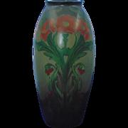Lenox Belleek Arts & Crafts Poppy Design Vase (c.1906-1924)