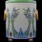 William Guerin (WG&Co.) Limoges Arts & Crafts Floral Motif Cachepot/Vase (c.1900-1932)