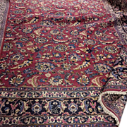 "SOLD Memorial Day SALE! Fabulous Antique Persian Hand Made Tabriz 12'5"" x9'3"" Rug Fl"