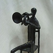 Superb 1930's Frankart Sculpture The Jazz Player