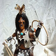 Hopi Kachina Doll by Raymond Parkett Hopi Dancer